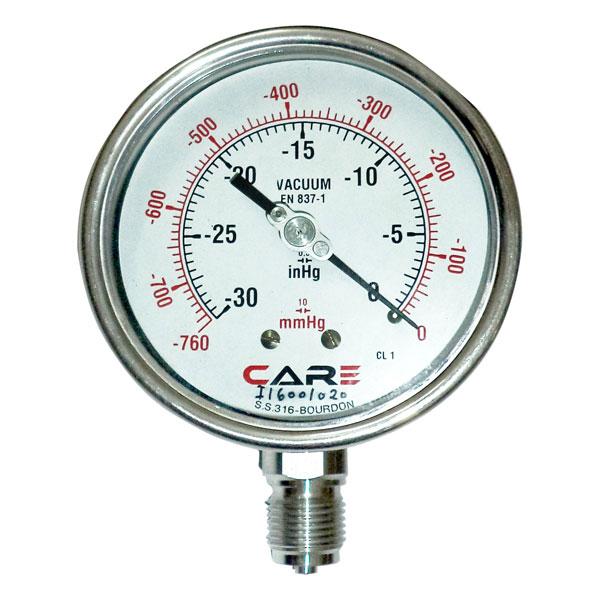 Vacuum Gauge Care Instruments